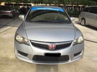 Honda Civic Fd 2.0 sambung bayar