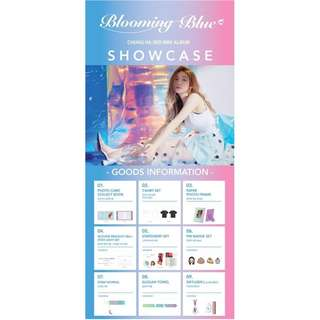 CHUNG HA - 'Blooming Blue' Showcase Official MD
