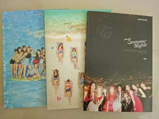Twice (ready stock) Dance the night away album