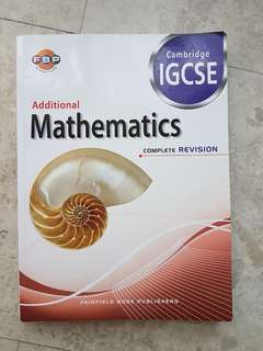 IGCSE Additional Mathematics Revision Guide