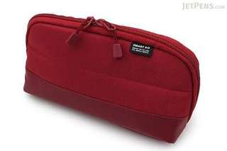Lihit Lab Red Wide Open Pen Case (Pencil Case)