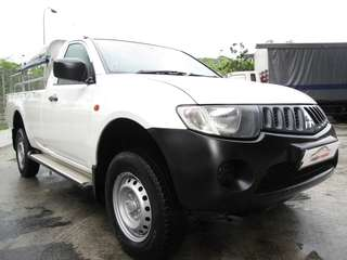 MITSUBISHI L200 SINGLE CABIN 2.5L TURBO M/T DIESEL(NEW 5 YEAR COE)