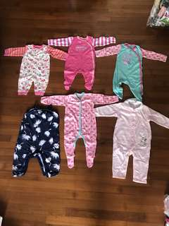 Baby Clothes (NEW!! All 6 for $20)