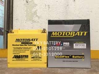 Motor Bateri , MotoBatt MBTX12U