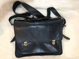 Authentic Leather Messenger Bag