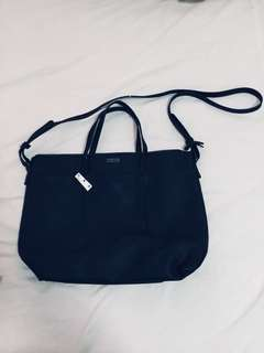 Mango black bag with sling