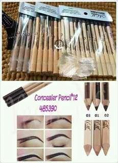 Eyebrow Pencil w/ Concealer👯'12pcs'