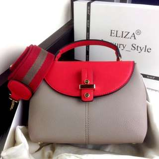 PO.3-5hari.Eliza bag. Size 25x10x17cm. (LIMITED STOCK). 4 Warna.