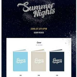 TWICE THE 2ND SPECIAL ALBUM SUMMER NIGHTS