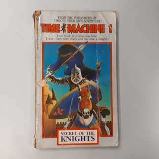 "Old Time Game Book Fighting Collection : "" Time Machine 1: Secret of the Knights """