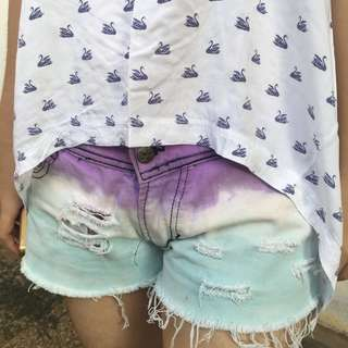#maudecay hotpants ombre