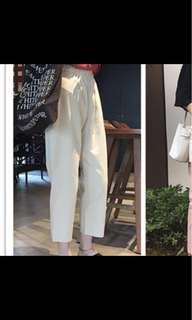 🚚 米色寬褲