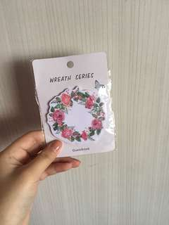 🚚 Cute floral post it note