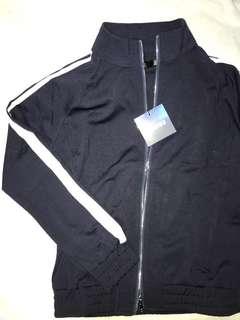 Oversized tracksuit jacket