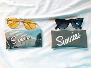 Sunnies Shades (yellow and Black)