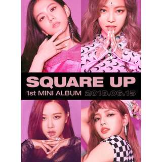 BLACKPINK 1ST MINI ALBUM SQUARE UP