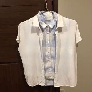🚚 專櫃 兩件兩穿一起售!#女裝半價拉