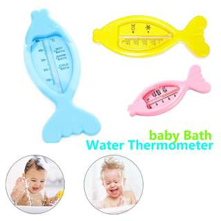 Baby Bath Floating Fish Toy and Thermometer