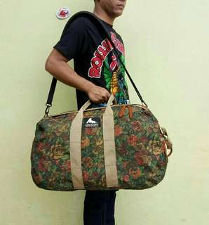 Gregory Duffle Bag King Floral Design