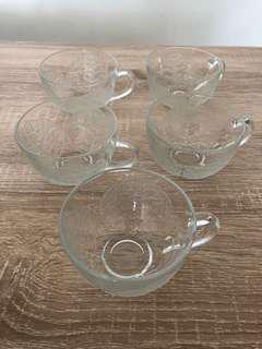 5 glass cup