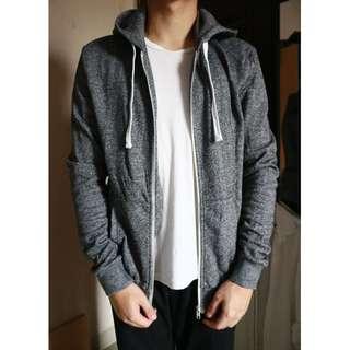 H&M Dark Grey Hoodie Jacket