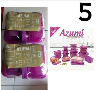 Technoplast Azumi set of 18