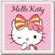 BN Full Diamond Painting Kit Hello Kitty Series 5 (30x30cm) 满钻凯蒂猫系列5钻石画