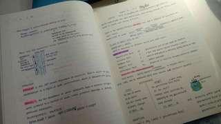 Customized Handwritten notes!