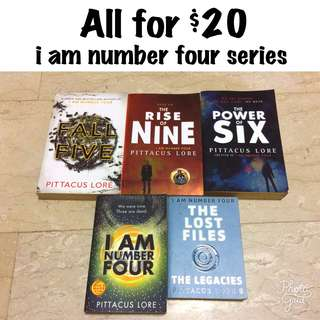 ($20forAll) I am Number Four Series