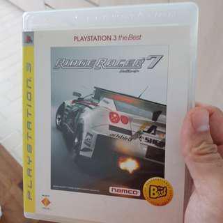 PS3 ridge racer