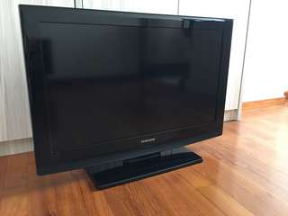 "Samsung 32"" tv model number LA32B350F1"
