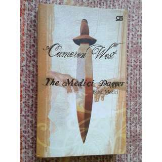 Jual buku terjemahan The Medici's Dagger by Cameron West