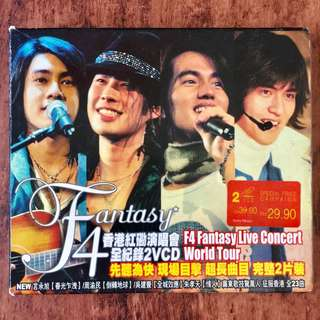F4 Fantasy Live Concert World Tour