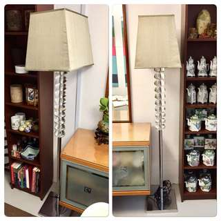 Pair of Heavy Standing Lamps