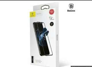 Baseus Slik-screen 3D Arc Tempered Glass Film for iPhone X