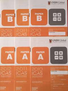 ICAS International Competitions and Assessments for Schools Mathematics Papers with Answer Keys