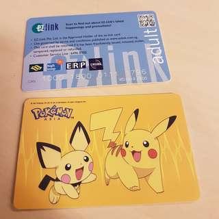 Kartu Ez-Link atau MRT edisi Pikachu Singapore