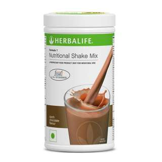 Herbalife Formula 1 Nutritional Shake Dutch Choco Canister 550g