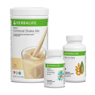 Herbalife Formula 1 Nutritional Shake French Vanilla Canister 550g
