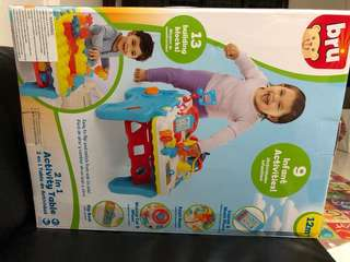 Brand New in box Bru 2 in 1 Activity Table