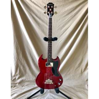 Epiphone EB-0 Electric Bass Cherry Red SG