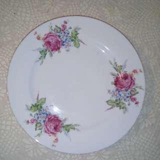 """Vintage flate plate, 8.25"""""""