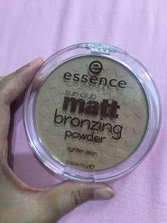 Essence sun club matt bronzing powder #maudecay