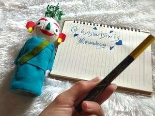 #maudecay Pen Eyeliner Maybeline