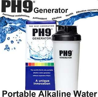 PH9 Generator Portable Alkaline Water Bottle 700ml