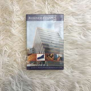 Business Finance by James Christopher Domingo