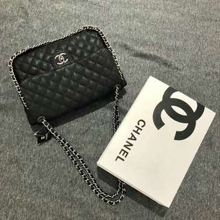 Chanel Caviar Shoulder Bag With SHW