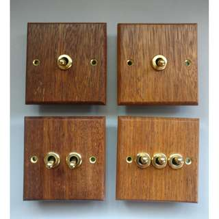 Wooden Switch set