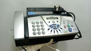 Brother 二合一傳真機+家用電話