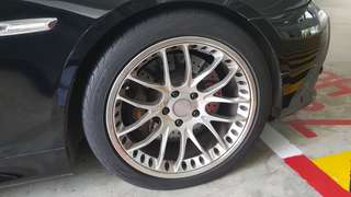 "Breyton 19"" staggered rims"